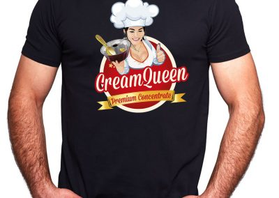 Shirt Cream Queen